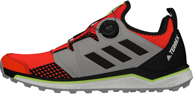 adidas TERREX Agravic Boa Trailrunning Schoenen Heren, solar red/core  black/grey two